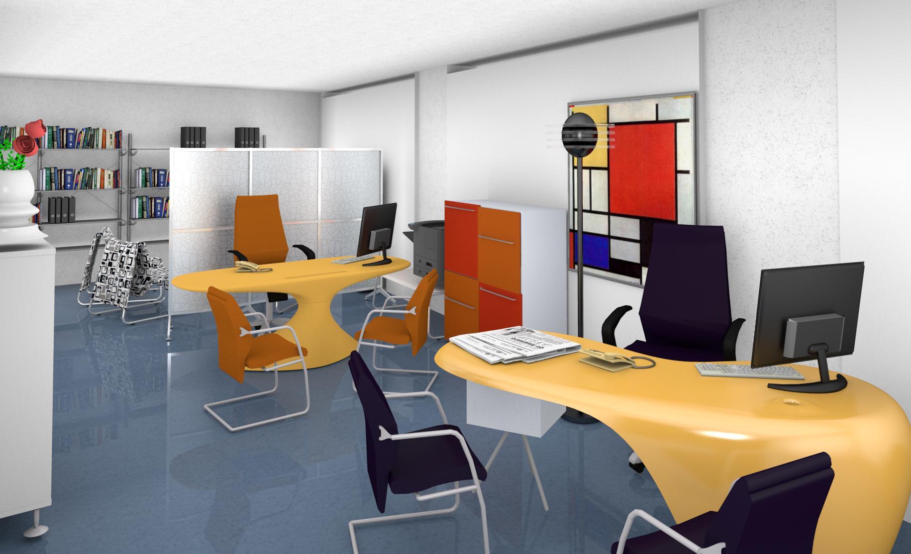 Archivio Ufficio Dwg : Modelli 3d cad 3d